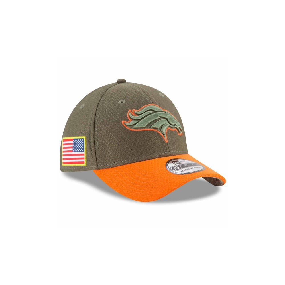 eabc74df5 New Era NFL Denver Broncos 2017 Salute to Service 39Thirty Cap ...