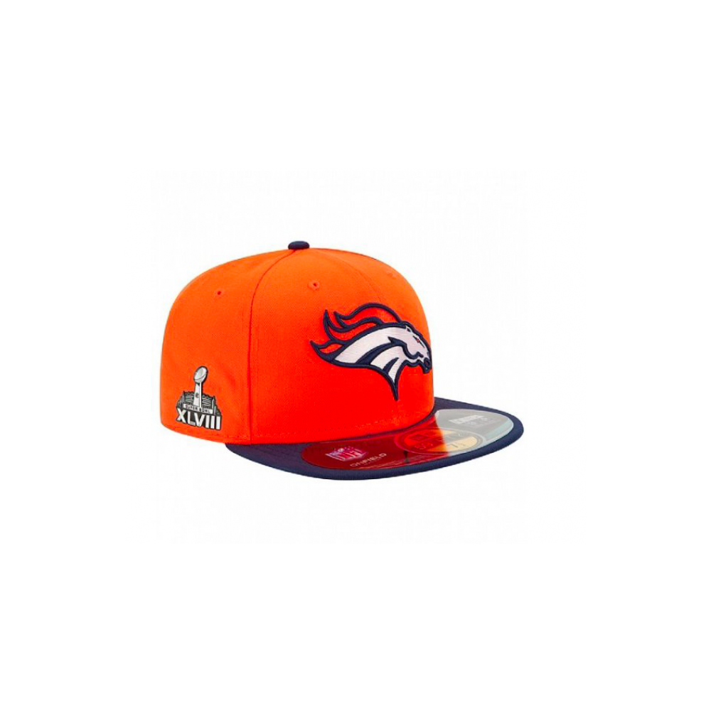 new styles f228c 26379 NFL Denver Broncos On Field 59Fifty Cap