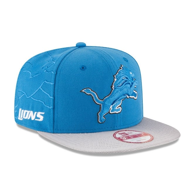 New Era NFL Detroit Lions 9Fifty Sideline Snapback Cap