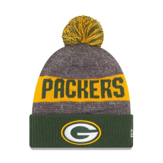 New Era NFL Green Bay Packers 2016 Sideline Official Sport Knit