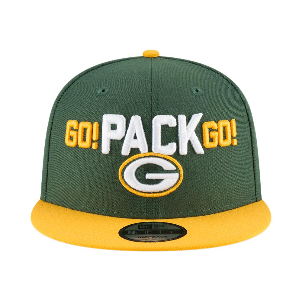 37ac9cfbd19 New Era NFL Green Bay Packers 2018 Draft Spotlight 9Fifty Snapback ...