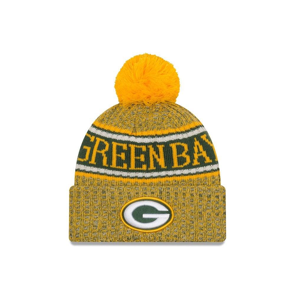 ad64f8737766a New Era NFL Green Bay Packers 2018 Sideline Reverse Sport Knit ...
