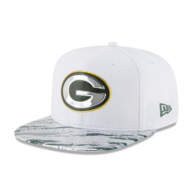 New Era NFL Green Bay Packers 9Fifty Colour Rush On Field Original Fit Snapback Cap