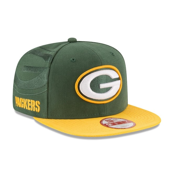 New Era NFL Green Bay Packers 9Fifty Sideline Snapback Cap
