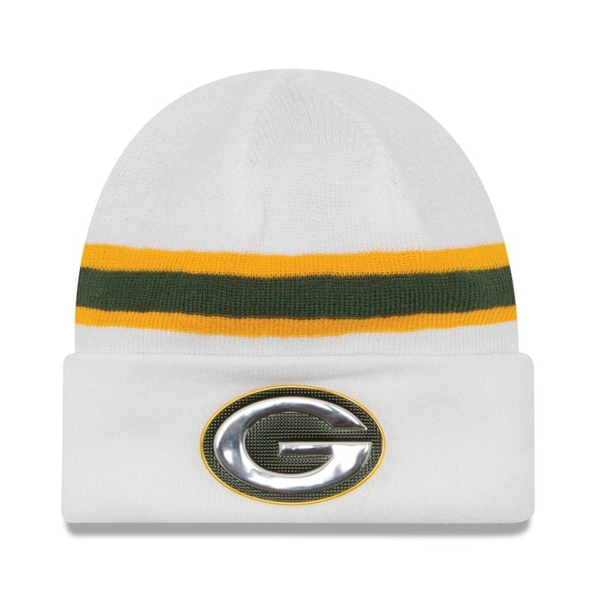 New Era NFL Green Bay Packers Colour Rush On Field Cuffed Knit