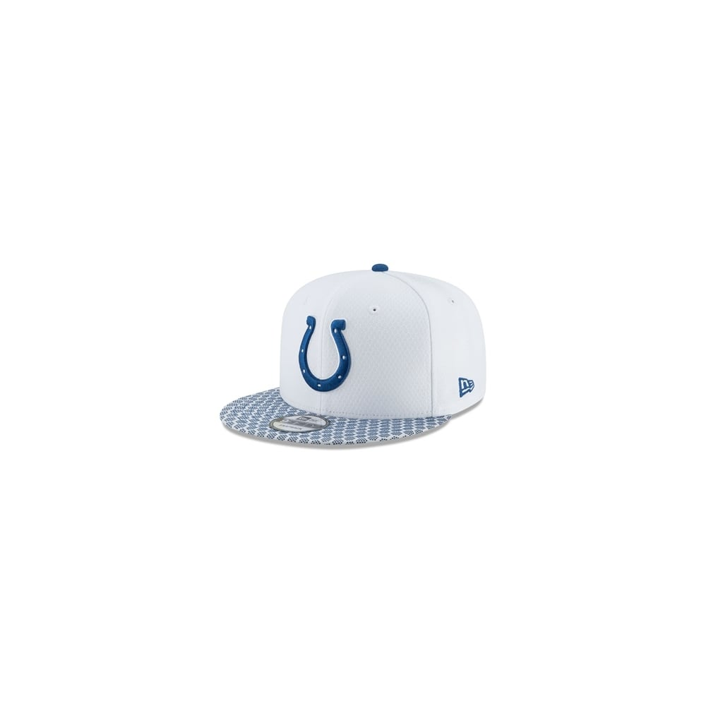 best service d6ec3 c76ff ... purchase nfl indianapolis colts 2017 sideline 9fifty snapback cap 1eaa6  8131d