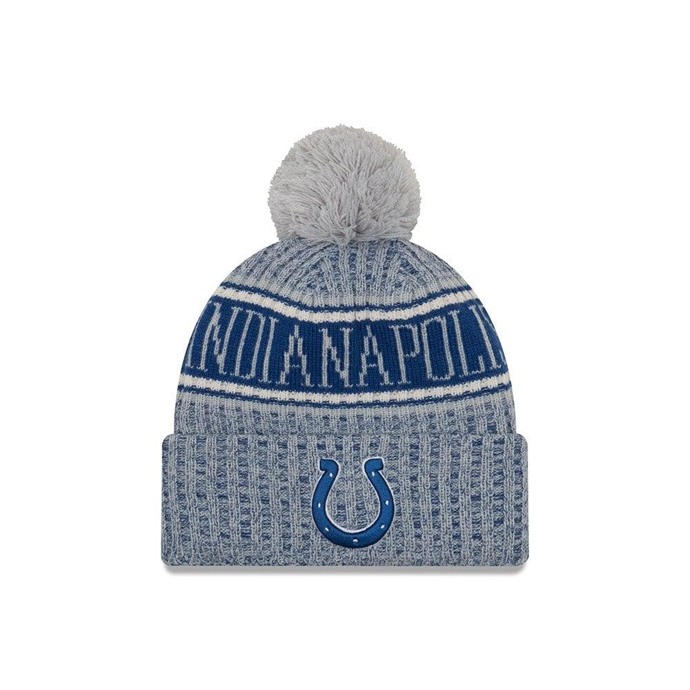 289c9cf0169 New Era NFL Indianapolis Colts 2018 Sideline Reverse Sport Knit ...