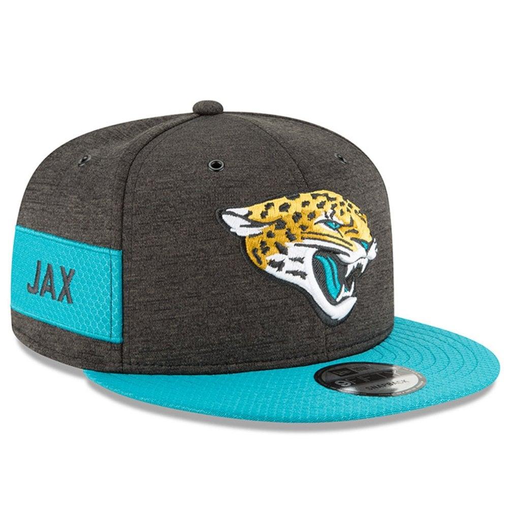 11ede040ff514f New Era NFL Jacksonville Jaguars 2018 Sideline 9Fifty Snapback ...