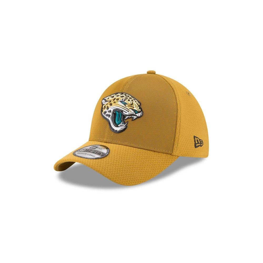 New Era NFL Jacksonville Jaguars 39Thirty 2017 Color Rush Cap ... 9d22ae9f1ce9