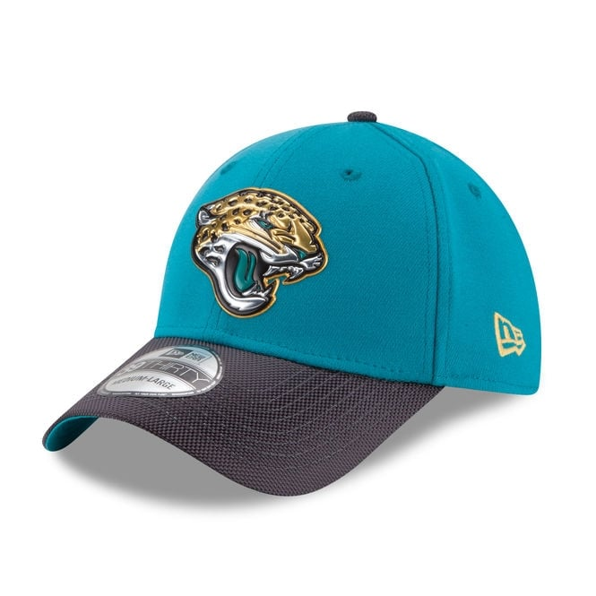 New Era NFL Jacksonville Jaguars 39Thirty Gold Collection Cap