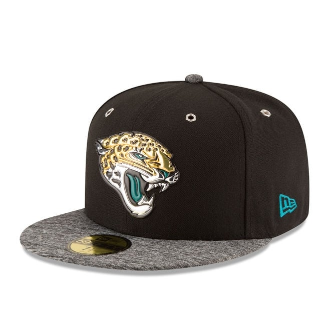 New Era NFL Jacksonville Jaguars 59Fifty 2016 Draft Collection Cap
