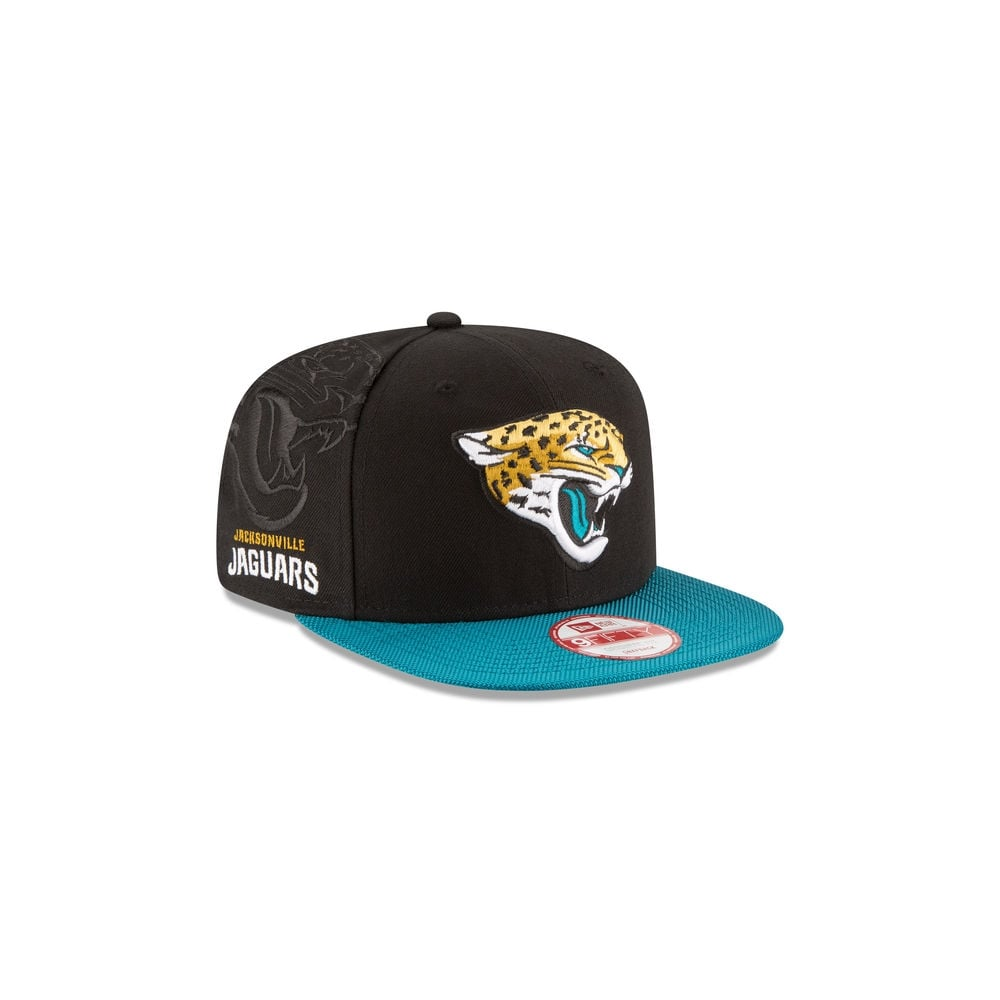 New Era NFL Jacksonville Jaguars 9Fifty Sideline Snapback Cap ... acbc0f730e4