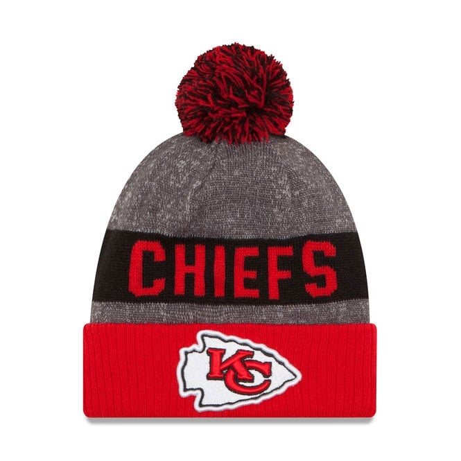 New Era NFL Kansas City Chiefs 2016 Sideline Official Sport Knit