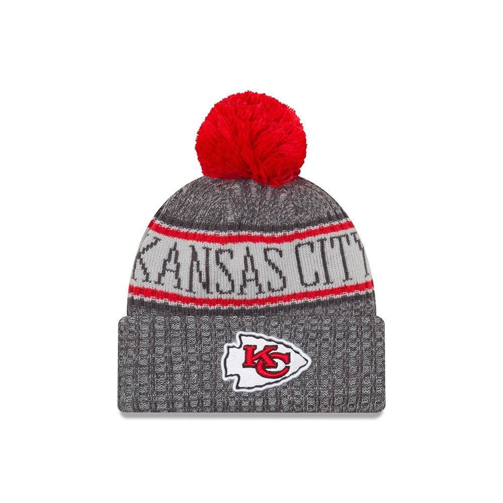 ddf635b72 NFL Kansas City Chiefs 2018 Sideline Graphite Sport Knit