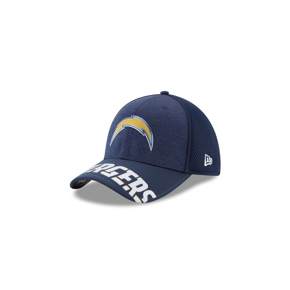 24e969e4bf2 New Era NFL Los Angeles Chargers 2017 NFL Draft 39Thirty Cap