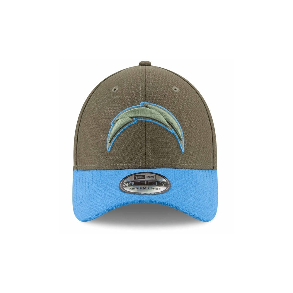 new concept ad470 23b9e ... official store nfl los angeles chargers 2017 salute to service 39thirty  cap b8c2b 62725