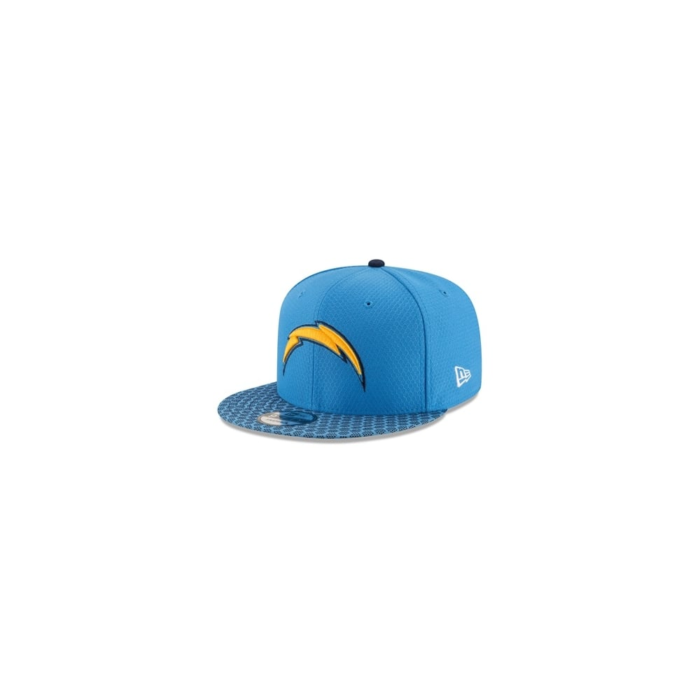 0b5e58065485be New Era NFL Los Angeles Chargers 2017 Sideline 9Fifty Snapback ...
