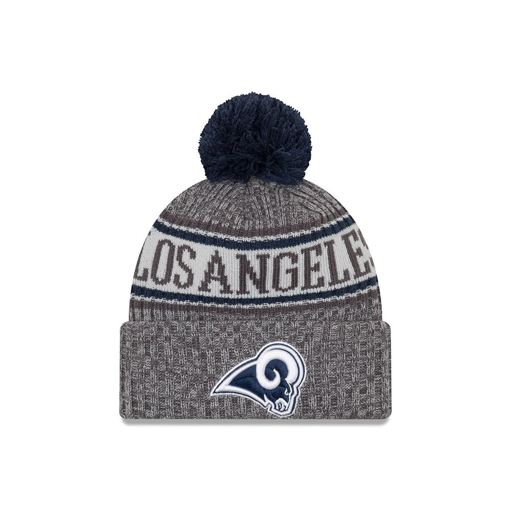 new style fec3e 7b14f NFL Los Angeles Rams 2018 Sideline Graphite Sport Knit