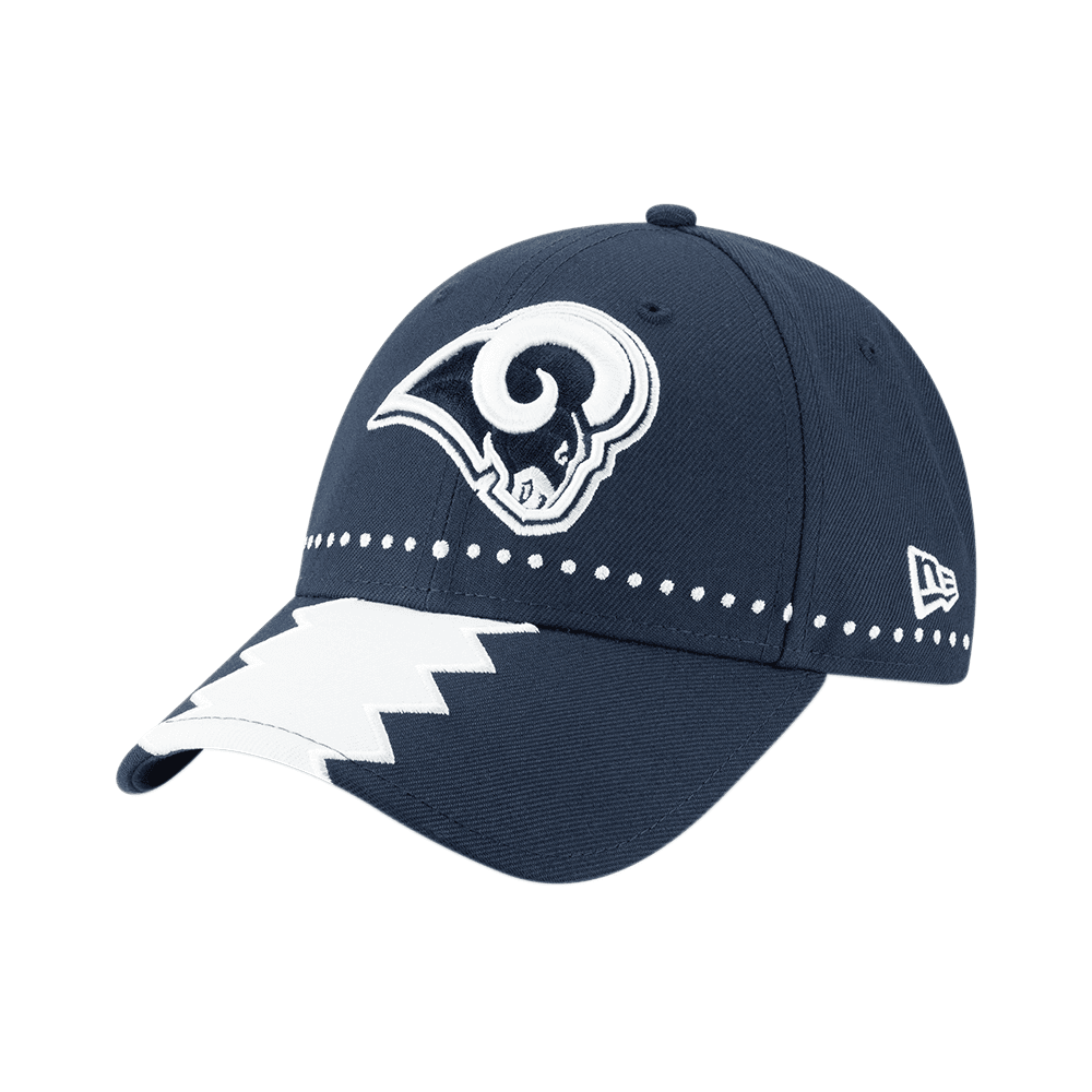 2762c3f985f9cd New Era NFL Los Angeles Rams 2019 Draft 9Forty Adjustable Cap ...