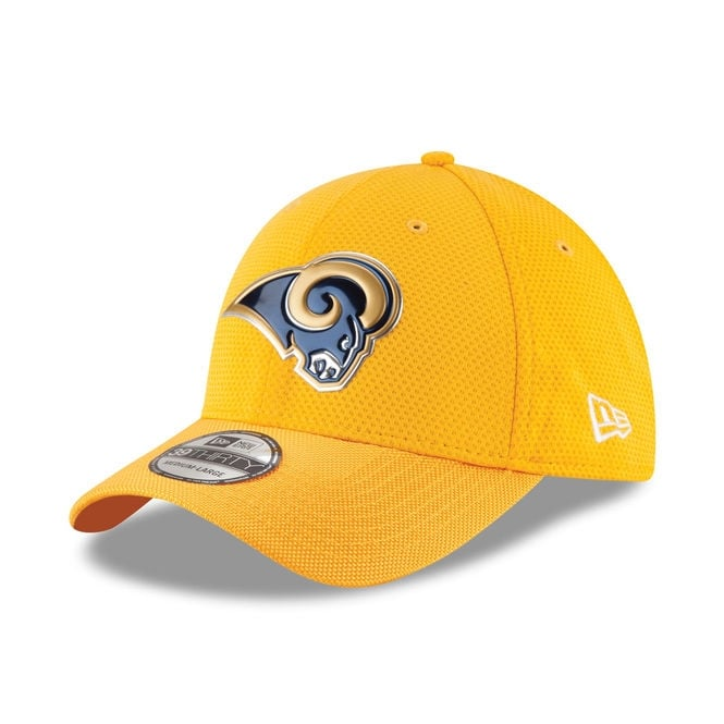 New Era NFL Los Angeles Rams 39Thirty Colour Rush On Field Cap