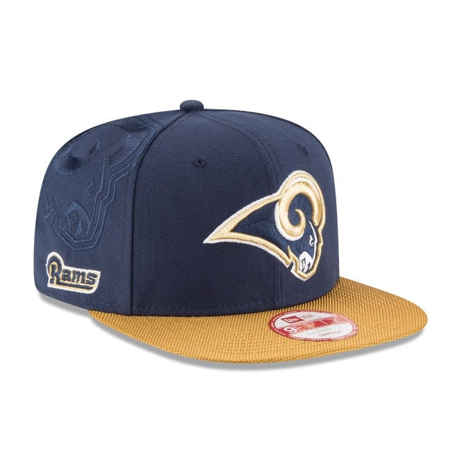 New Era NFL Los Angeles Rams 9Fifty Sideline Snapback Cap