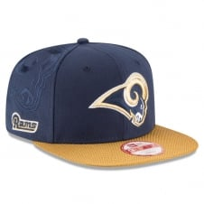 NFL Los Angeles Rams 9Fifty Sideline Snapback Cap