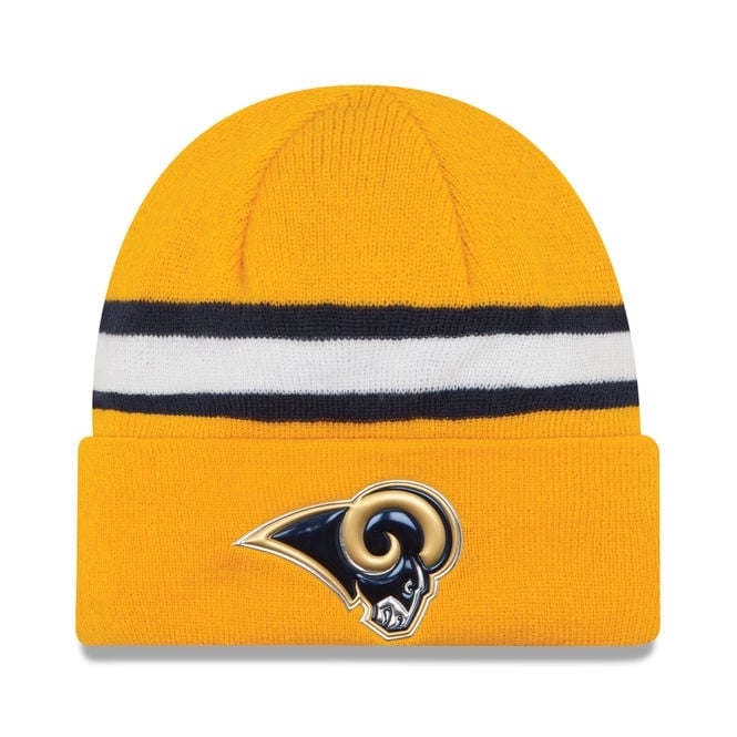 New Era NFL Los Angeles Rams Colour Rush On Field Cuffed Knit
