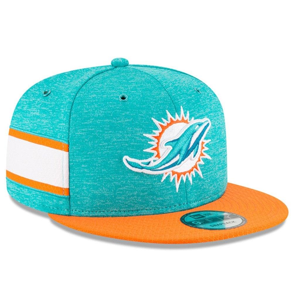 7b003f27b New Era NFL Miami Dolphins 2018 Sideline 9Fifty Snapback - Snapback ...