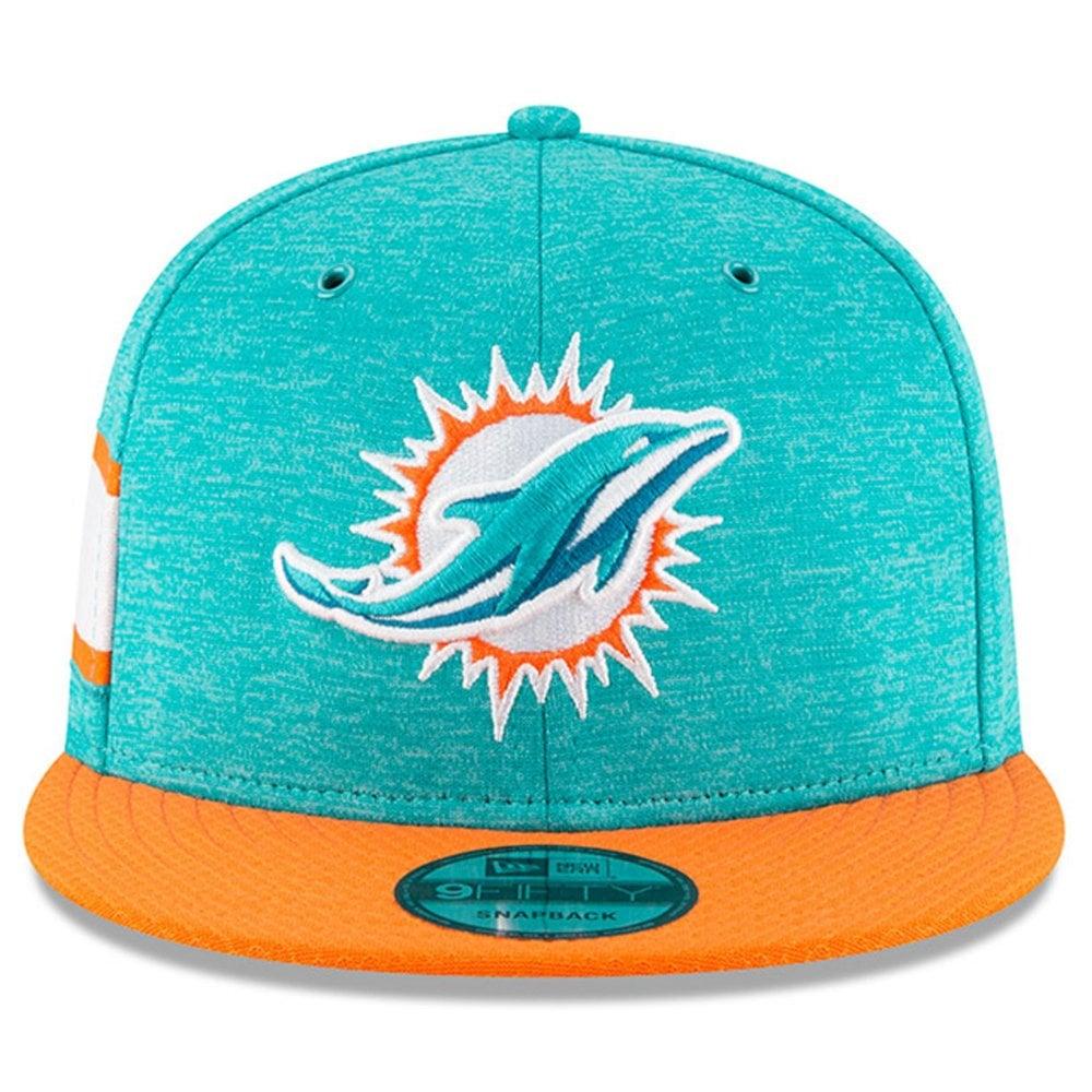 346c611c NFL Miami Dolphins 2018 Sideline 9Fifty Snapback