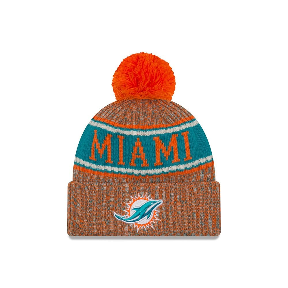 more photos 53247 83df6 ... beanies skull hat from 87531 81c2c  greece nfl miami dolphins 2018  sideline reverse sport knit d28d7 b5b31