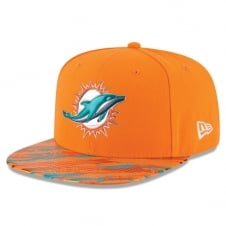 NFL Miami Dolphins 9Fifty Colour Rush On Field Original Fit Snapback Cap