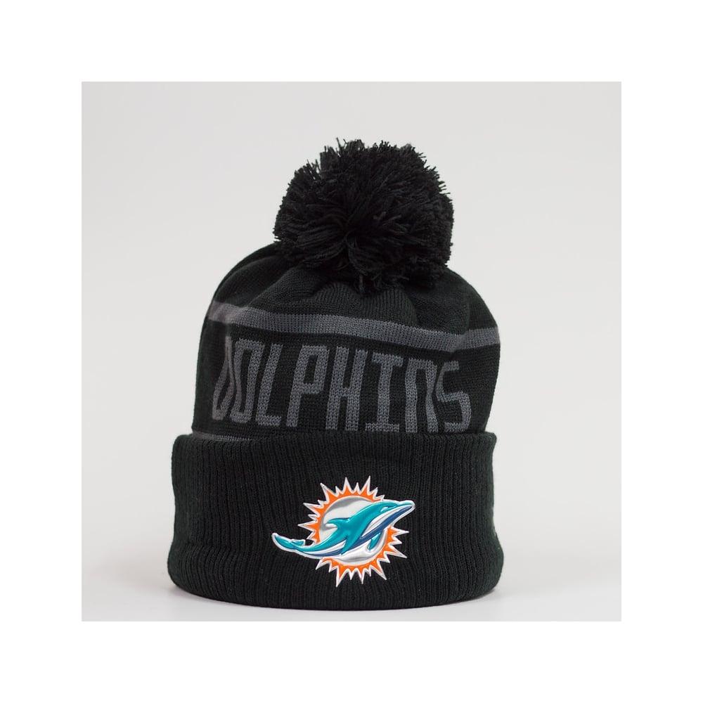 50c79afc NFL Miami Dolphins BC Cuffed Pom Knit