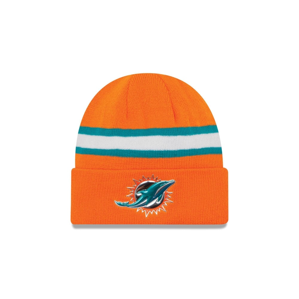 reputable site da602 d7280 NFL Miami Dolphins Colour Rush On Field Cuffed Knit
