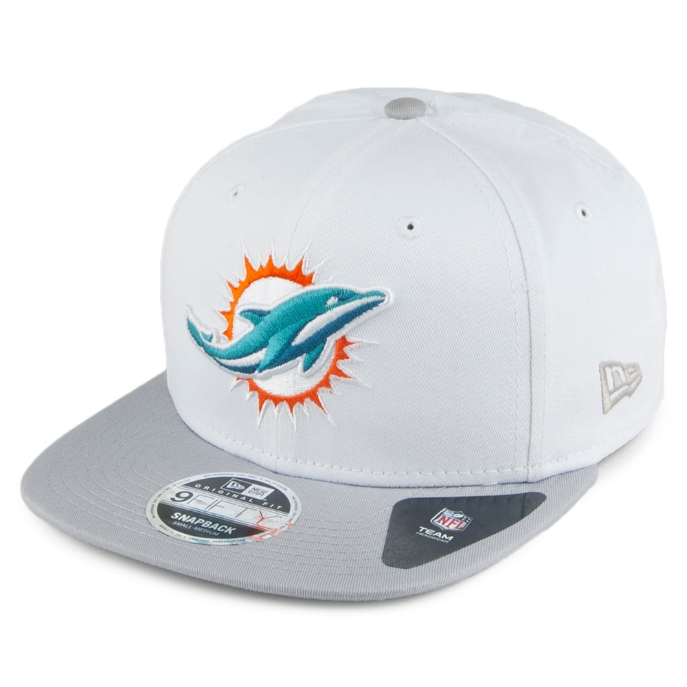 329bd0bc5eb1f New Era NFL Miami Dolphins Contrast Crown 9Fifty Snapback Cap ...