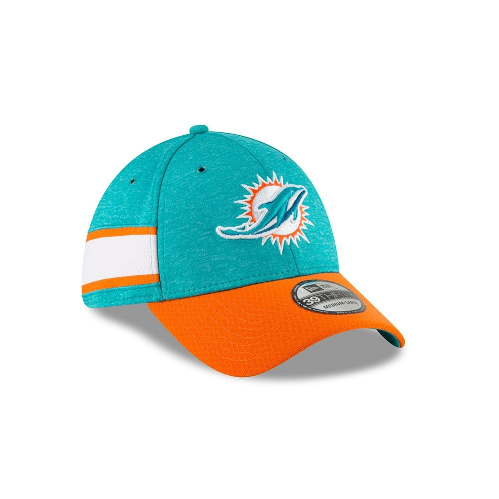 reputable site 095c5 1f2c3 ... sale nfl miami dolphins sideline 2018 39thirty cap 0f9e5 7e348