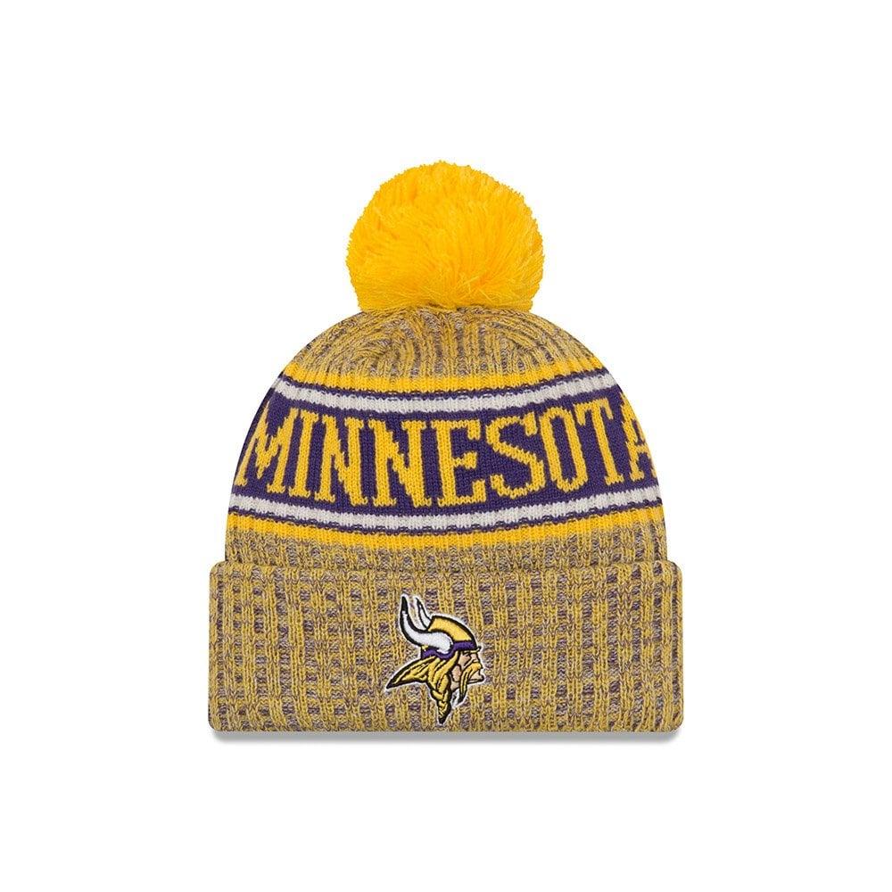 fb2dc264 New Era NFL Minnesota Vikings 2018 Sideline Reverse Sport Knit