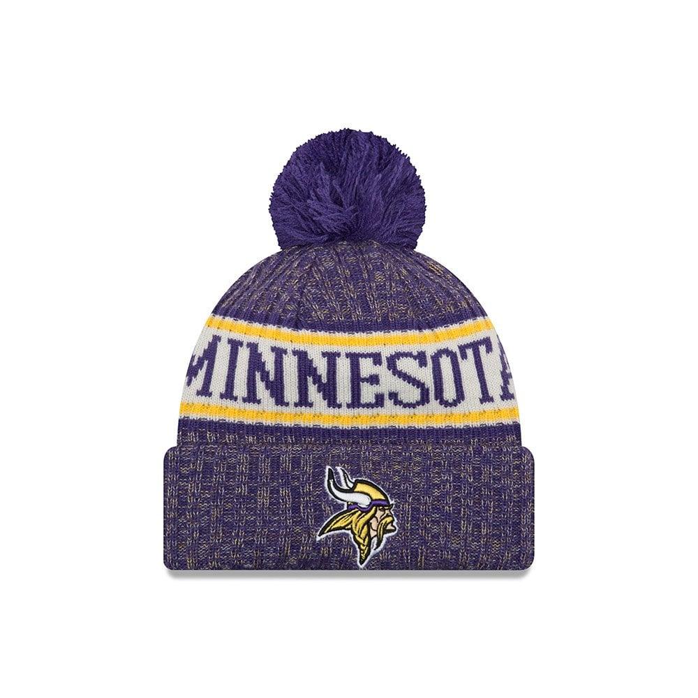 New Era NFL Minnesota Vikings 2018 Sideline Sport Knit - Headwear ... 5748c2d1ed5
