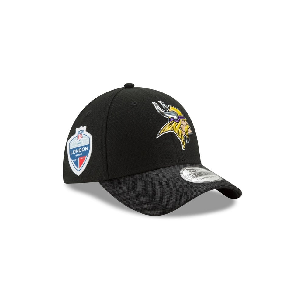 New Era NFL Minnesota Vikings BOB London Games 2017 39Thirty Cap ... 0f62079f330