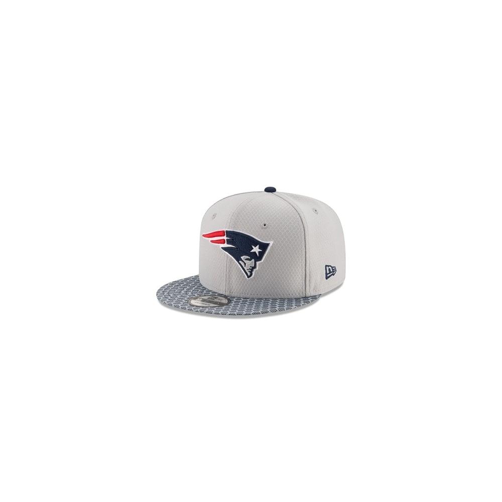 brand new f9079 51176 NFL New England Patriots 2017 Sideline 9Fifty Snapback