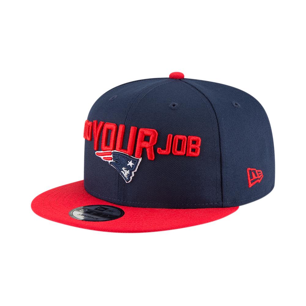 584bffd1214 NFL New England Patriots 2018 Draft Spotlight 9Fifty Snapback Cap