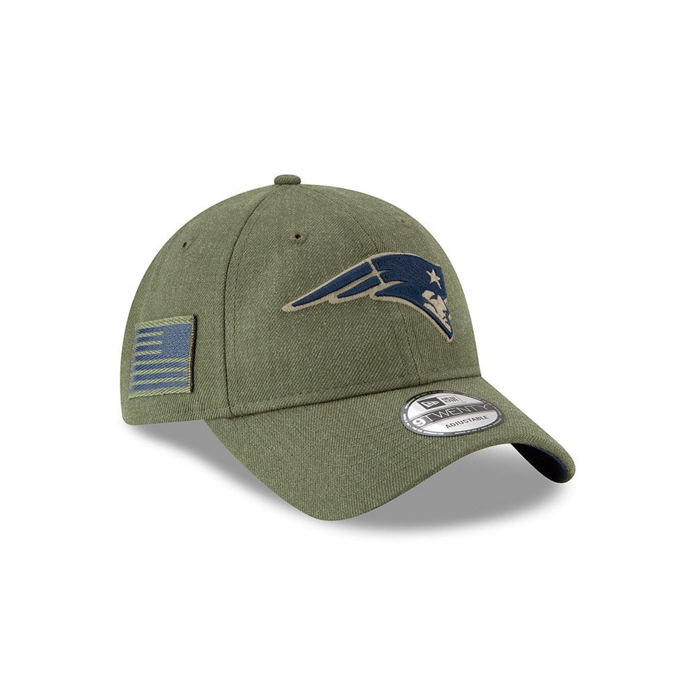 NFL New England Patriots 2018 Salute to Service Sideline 9Twenty Adjustable  Cap 3bbed67f617