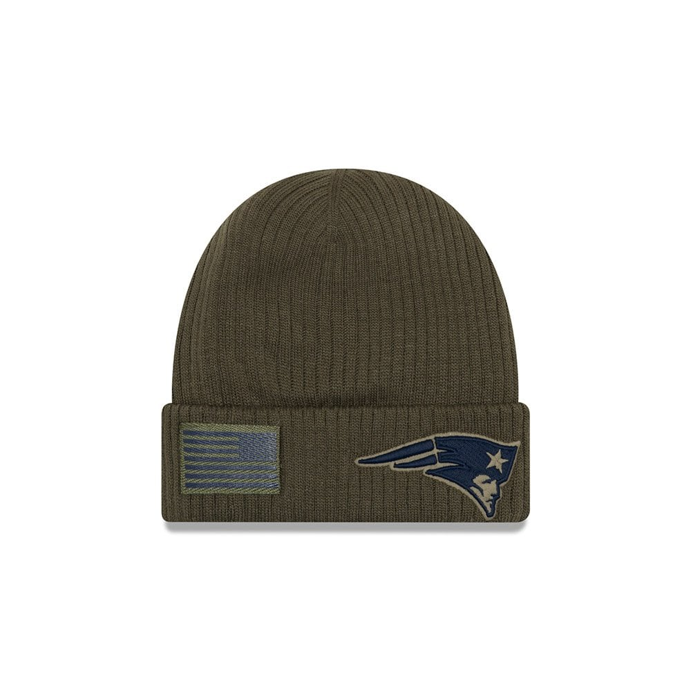 a2c1eda56f8 New Era NFL New England Patriots 2018 Salute to Service Sideline ...