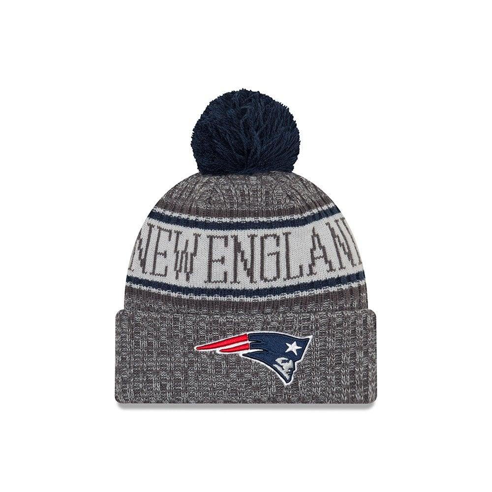 813310a99 NFL New England Patriots 2018 Sideline Graphite Sport Knit