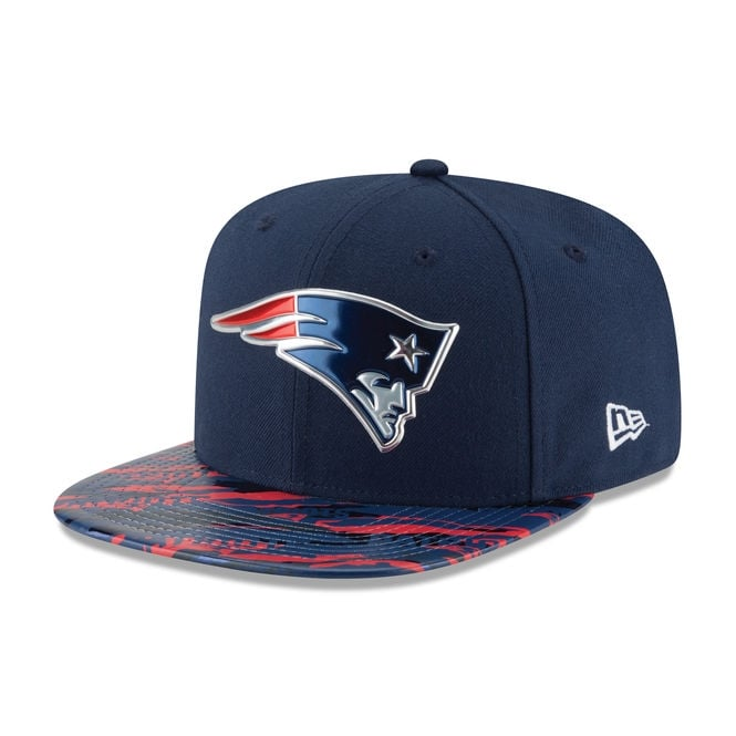 New Era NFL New England Patriots 9Fifty Colour Rush On Field Original Fit Snapback Cap