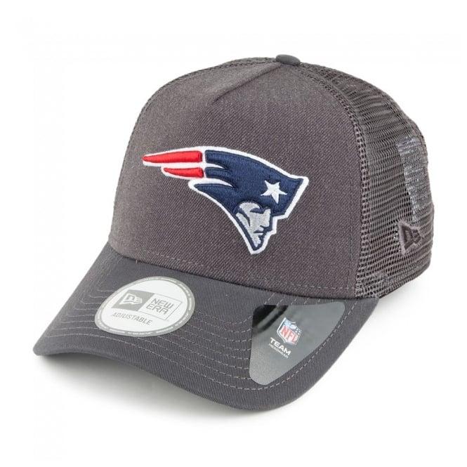 sports shoes dfc8e 56597 NFL New England Patriots Heather Trucker Adjustable Snapback Cap