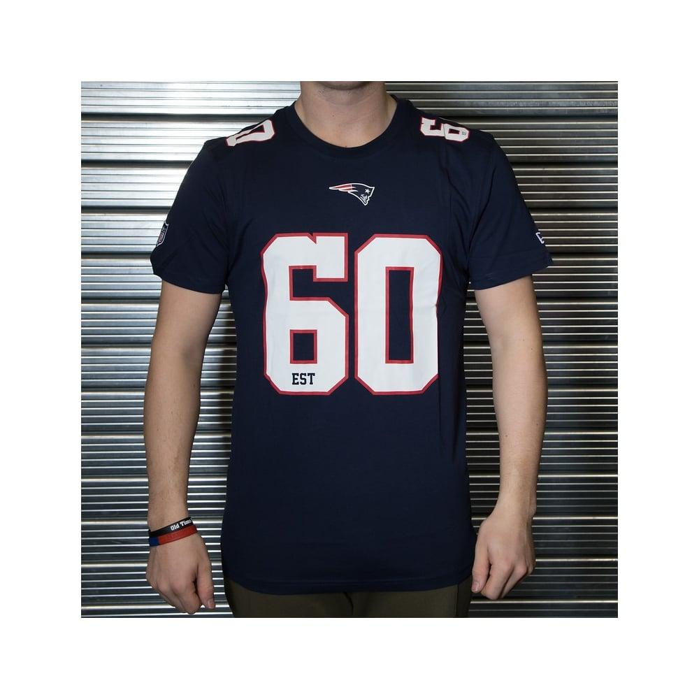 New Era NFL New England Patriots Number Classic T-Shirt - Teams from ... b8071e7ef