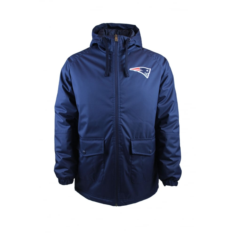 New Era NFL New England Patriots Sideline Parka Jacket - Teams from ... afd353abb