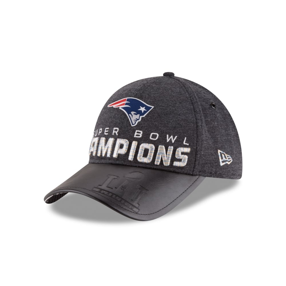 d817fbed3c0 New Era NFL New England Patriots Super Bowl LI Champions 9Forty Cap ...