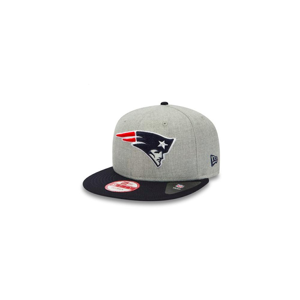 8fe8a805d6f New Era NFL New England Patriots Team Heather Mesh 9Fifty Snapback ...
