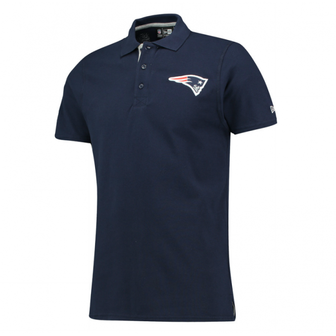 New Era NFL New England Patriots Team Logo Polo